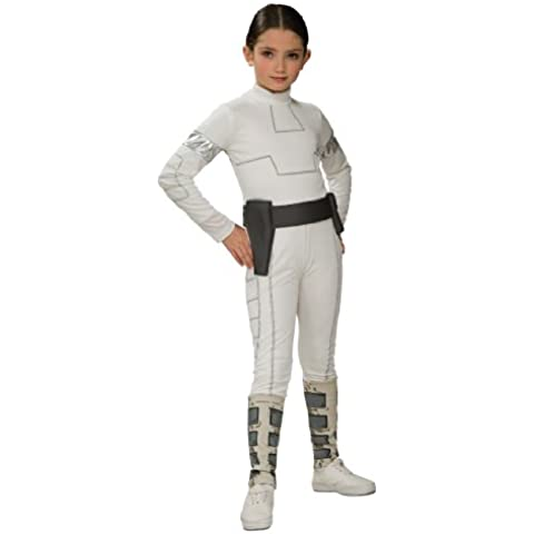 CLONE WARS Padme Amidala (Standard) - Kids Costume 8 - 10 (Amidala Bambino Costume)