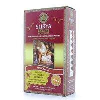 Surya Henna, Brasil, Natural Hair Coloring und Behandlung Powder, Mahagoni, 1,76 Unzen (50 g) - Henna-behandlung