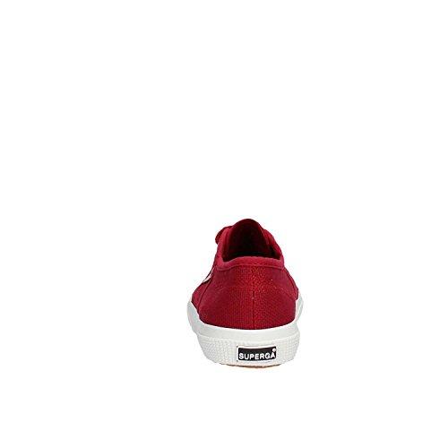 Superga 2750-Jcot Classic S0003C0 Unisex - Kinder Halbschuhe RED DK SCARLET