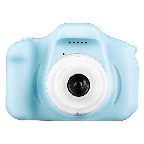 Mini Cartoon Kamera Digitalkamera HD 1080P wiederaufladbare Kinderkamera Handheld-Digitalkamera für Kinder 3-10 Kleinkind (B)