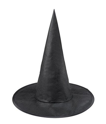 Halloweenia - Halloween Kinder Kostüm Hexen- Zauberer Hut , (Hexe Halloween Scary)