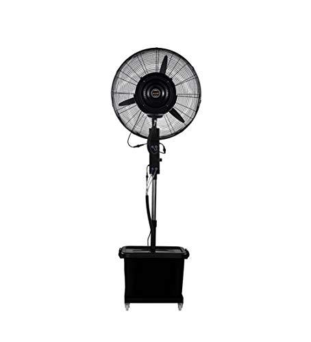 Industrieller Spray-Boden-Ventilator-Wasser-Nebel-Befeuchtungs-Kühlwasser-Zerstäubungs-Wasser, Das Bewegungsbewegliche anhebende Geschwindigkeit Ventilator-350W Drei abkühlt