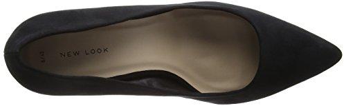 New Look Scarpe con Tacco, da Donna Black (01/Black)