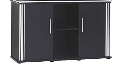 Wave A6006840 Schrank Design, 120 x 40 x 73 cm, schwarz
