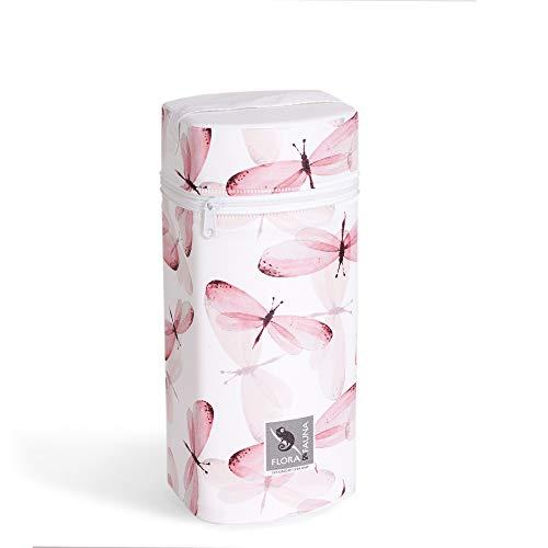Isoliertasche für Babyflaschen FLORA-Kollektion ❤ verschiedene Motive Baby Warmhaltebox & Kühltasche Thermobox (Libelula)