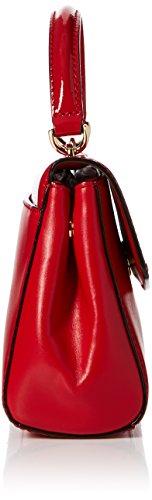 Michael Kors - Ava, Borse a secchiello Donna Rosso (Bright Red)