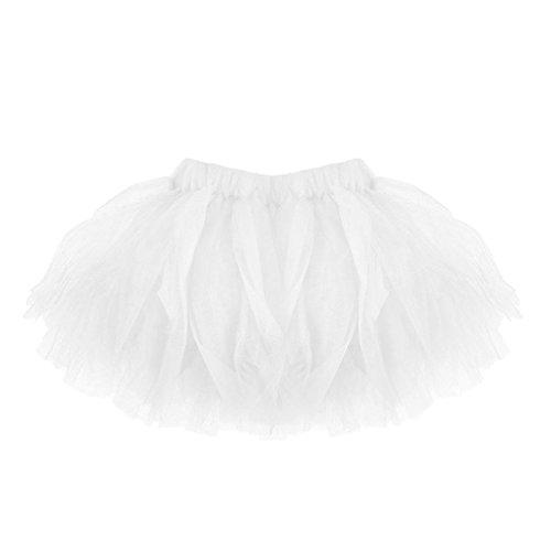 FNKDOR Baby Mädchen Tüll Rock, Baby Tütü Minirock Tüllrock Petticoat Kurze Tutu Rock ()
