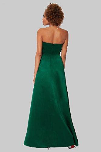 SEXYHER Herrliches bodenlangen Strapless Brautjungfern formales Abend-Kleid - EDJ1590 Huntergreen
