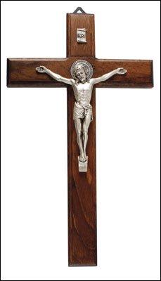 2286-cm-9-st-benedict-crucifix-saint-in-legno-con-inserto-in-metallo-argento-wall-hanging-10622-corp