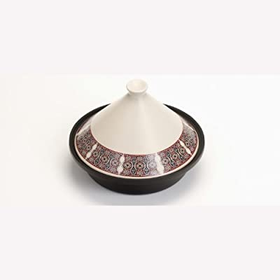 Tagine 25cm - Marrakesh Design With Cast Iron Base And Stoare Top by VICTOR