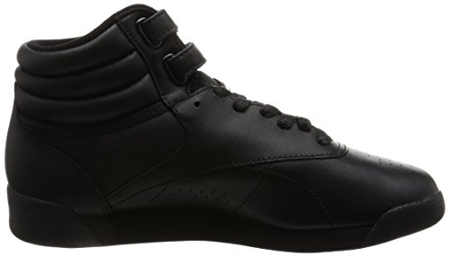 Reebok Freestyle Damen Hohe Sneakers Schwarz (Int-Black)