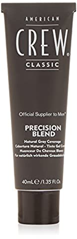American Crew Precision Blend Set de 3 Pots Coloration Gel Crème #5-6 Medium Ash 120 ml