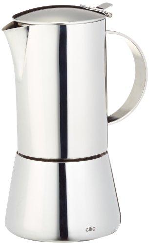 Cilio 342055 Aida Espressokocher für 6 Tassen - Espresso-geräte