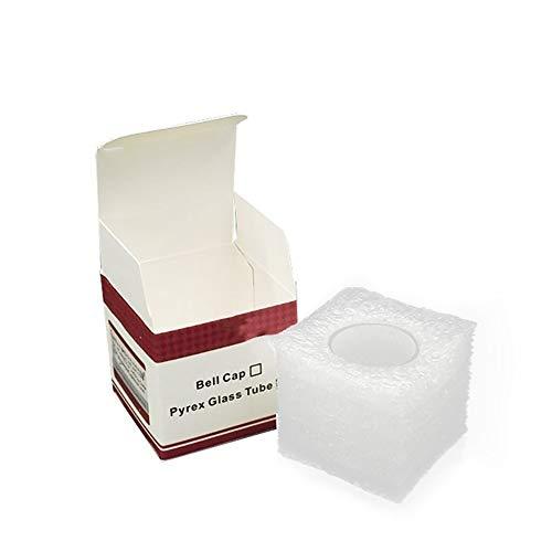 Qingtian-ceg Ersatz Pyrex Glasrohr für Geekvape Ammit Dual Coil RTA 3ml / 6ml Tankzerstäuber,Frei von Tabak und Nikotin (Color : Capacity 6ml) Dual Coil