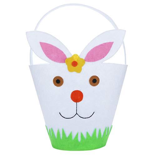 Lomsarsh Osterhasen-Geschenk-Beutel-Kaninchen-Süßigkeits-Beutel-kreatives Geschenk-Hauptzusatz für ()