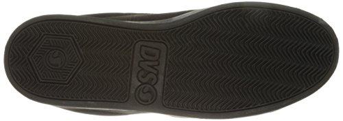 DVS Shoes Revival 2, Scarpe da Skateboard Uomo Noir (Black Black Nubuck)