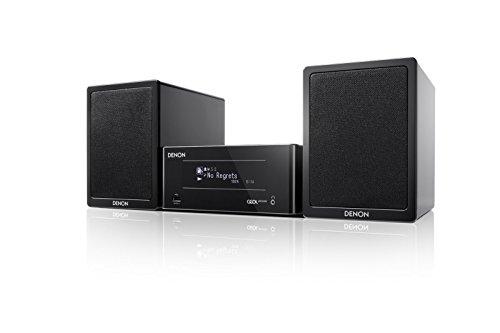DENON N-4BKE2 - Sistema de audio Bluetooth (130 W, NFC, WiFi), color negro