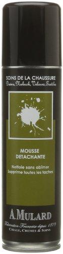 Mousse Détachante - Fabrication Française - Pour Daims, Nubuck, Velours, Textiles - Coloris Neutre