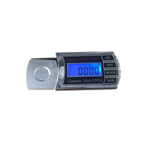 Topker 20g / 0,001g LCD Digitale Taschenwaage Mini Elektronische Schmuck Skala Präzisionswaage Waage Werkzeuge