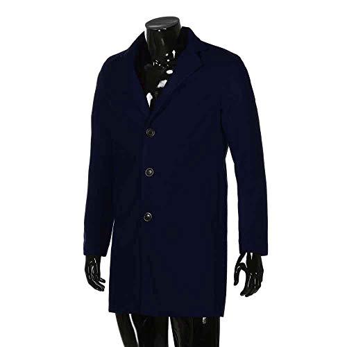 Setsail Herren Formale Einreiher herauszufinden Herrentel Lange Wolle Jacke Outwear Bequeme Jacke - Klassischen Look Wolle Anzug
