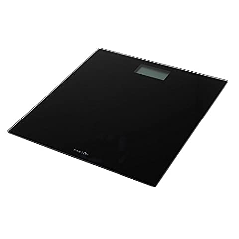 Hanson Pèse-personne électronique verre noir