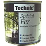 Peinture Spécial Fer - GRIS GALET - 2.5 L - TECHNIC