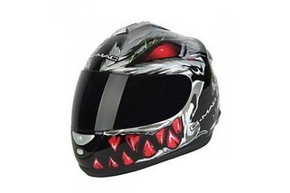 g-mac-predator-full-face-helmet-gunmetal-silver-red-large