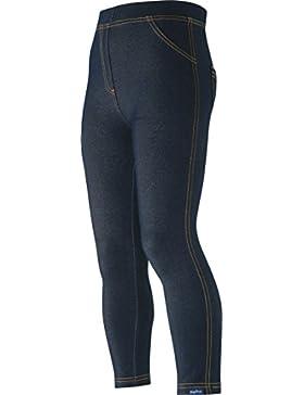 Playshoes Unisex Leggings Lang Jeans-Optik