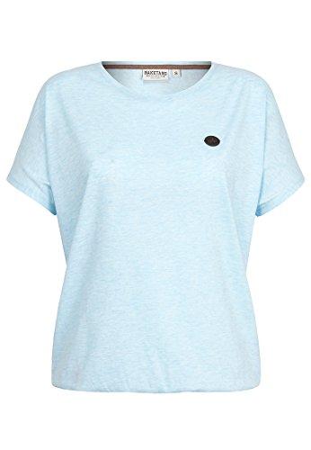 Damen T-Shirt Naketano Schnella Baustella III T-Shirt,bubble butt melange,XS (Bubble Damen)