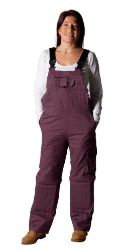 Rosies - Damen-Latzhose - Lila Arbeits-Latzhosen Für sie jeanslatzhose