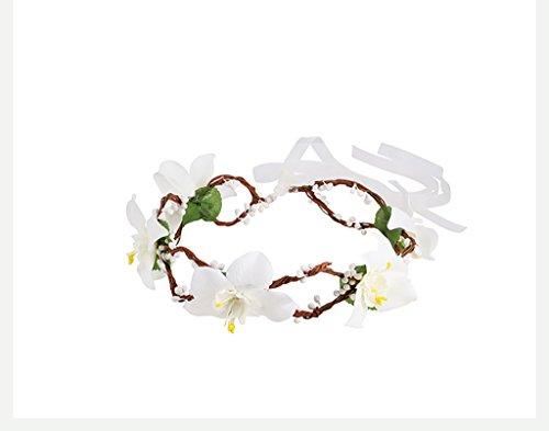 Sea views Coiffe Corolla Flower Series Mariage Mariage Coiffure Garland Fille Garçon/Mariage Robes De Mariée Accessoires Garland