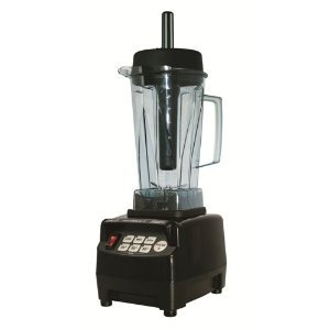 JTC Omniblend V 2 Litre BPA FREE Commercial Power Blender (Onyx – black)