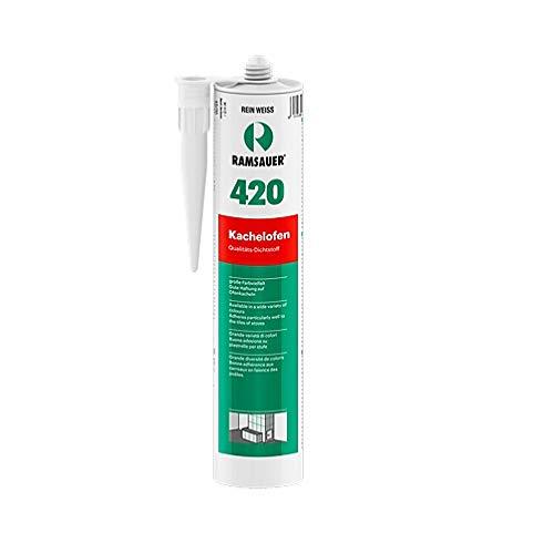 Ramsauer 420 Kachelofen perlweiß 1K Acryl Dichtstoff 310ml Kartusche