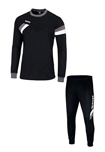 FORWARD Trainingskombination · SET aus Pullover und Hose Größe L, Farbe schwarz-anthrazit-weiß, Farbe schwarz - anthrazit - weiß Puma-fußball-jugend