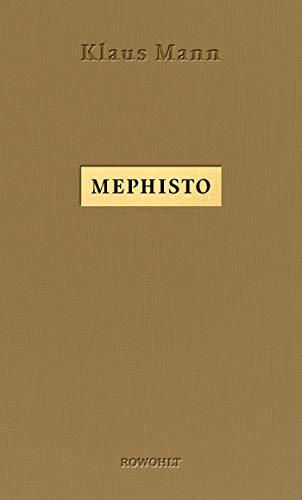 Buchseite und Rezensionen zu 'Mephisto: Roman einer Karriere' von Klaus Mann