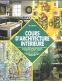 COURS D'ARCHITECTURE INTERIEURE (Vie Quotidienne)