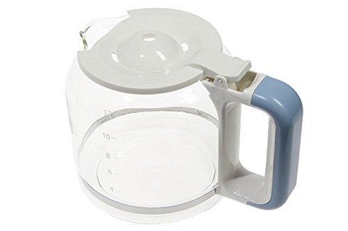 Ariete caraffa boccale bicchiere blu macchina caffè a filtro Vintage 1342