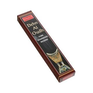 6 x Dehn Al Oudh PURE AGARWOOD Incense Sticks 15g (6 boxes) by NANDITA