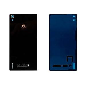 Huawei Ascend P7 Back Cover RÜckseite Glas Schwarz