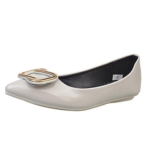 Signora della moda scarpe a punta/Scarpe piatte luce selvagge/Europei e americani-scarpe donna C