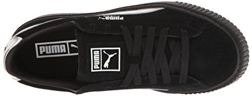 Puma Suede Platform Explosive Women's Sneakers Wildleder Turnschuhe Puma Black/Puma Black