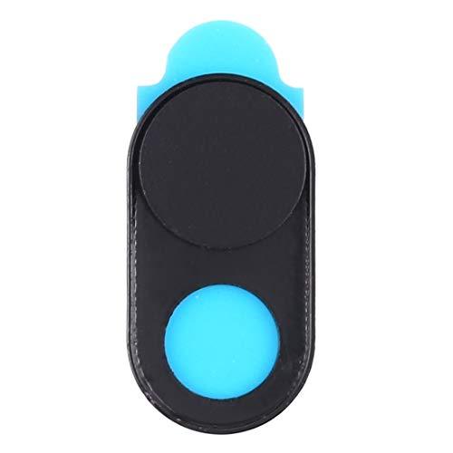 webcam cover, cubierta de cámara universal diseño imán ultra-delgada cubierta de cámara web, de escritorio, portátil, tablet, móviles (color : black)