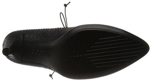 ECCO Shape 75 Pointy, Scarpe con Tacco Donna Nero (BLACK1001)