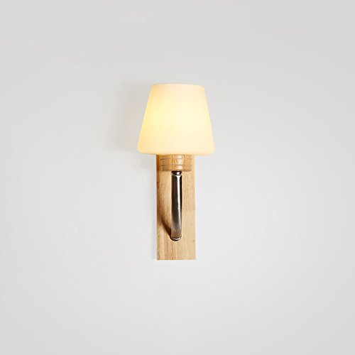 SKC Lighting-Applique murale Salon de mur en bois massif, salon de mur, applique murale