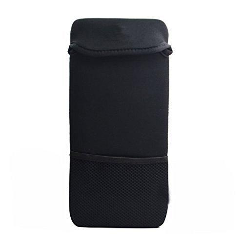 Tastatur-Hülse - Case Wonder Neopren Tastatur Bewegliches Schutztragetasche Abdeckung Taschen-Haut für die Logitech Bluetooth Easy-Switch K811 / Bluetooth beleuchtete K810 / Logitech K380 Multi-Gerät Wireless Bluetooth Tastatur / Apple Wireless Bluetooth Tastatur MC184LL / B MC184CH und MLA22LL / A und fast 12 Zoll Wireless Keyboard(Schwarzes Netz)