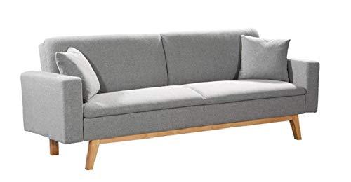 Mueblix Sofa Cama Sonora (Gris Claro)