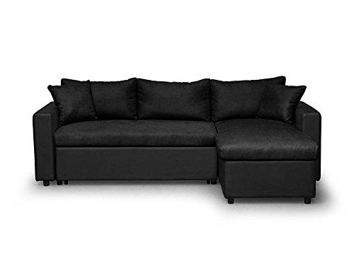 Usinestreet-Maria-Canap-dAngle-ConvertibleRversible-Tissu-223-x-146-x-825-cm