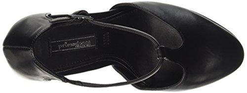Primadonna 108403022ep, Chaussures Pour Femmes Avec Talon Noir