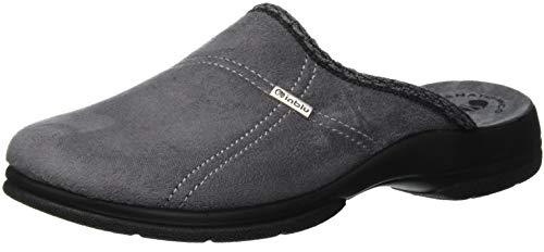 Inblu paolo pantofole aperte sul retro uomo, (grigio 61_025), 43 eu