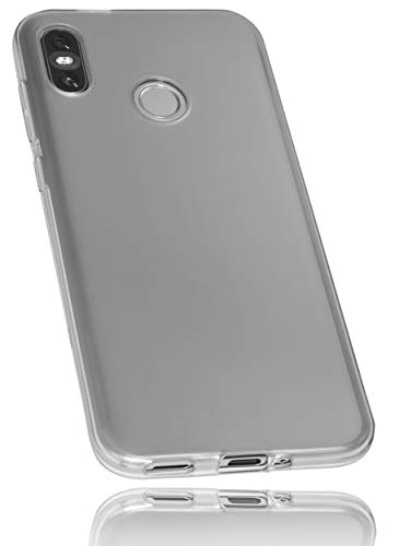mumbi Hülle kompatibel mit HTC U12, klar schwarz